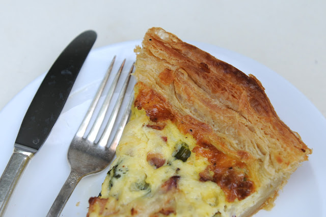 how to cook quiche without pastry
