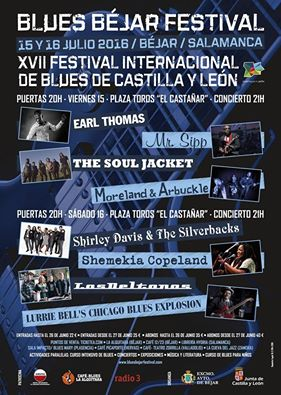 BLUES BÉJAR 2016