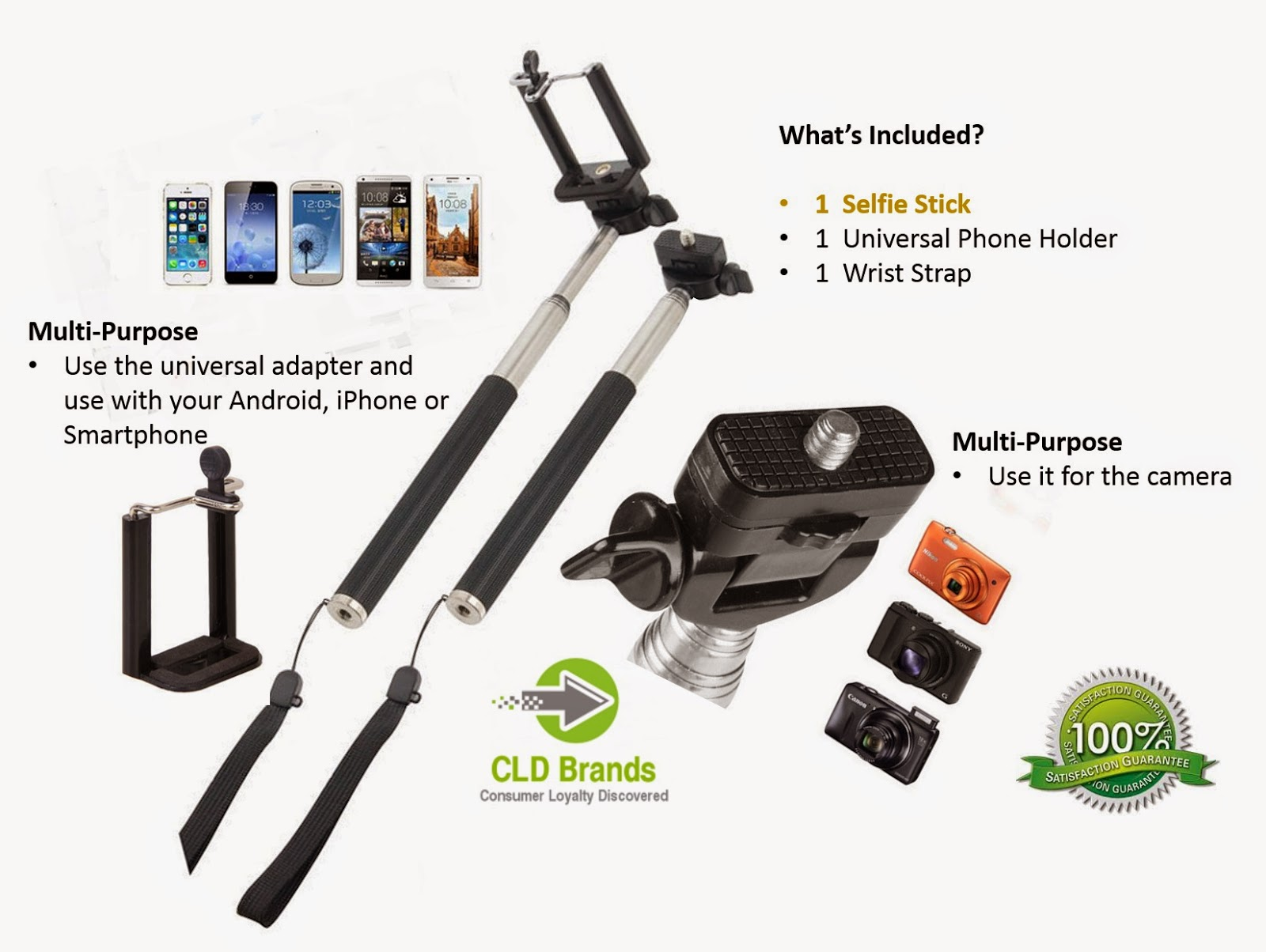 Selfie Photos Monopod Review  #selfiemonopode