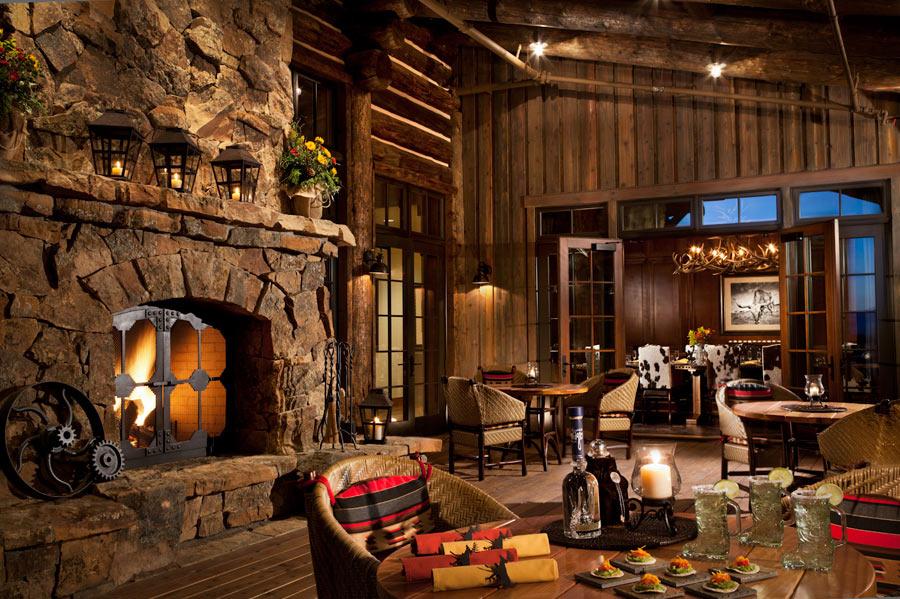 decoracion de interiores de casas estilo rustico:ESTILO RUSTICO: Rancho Rustico en USA