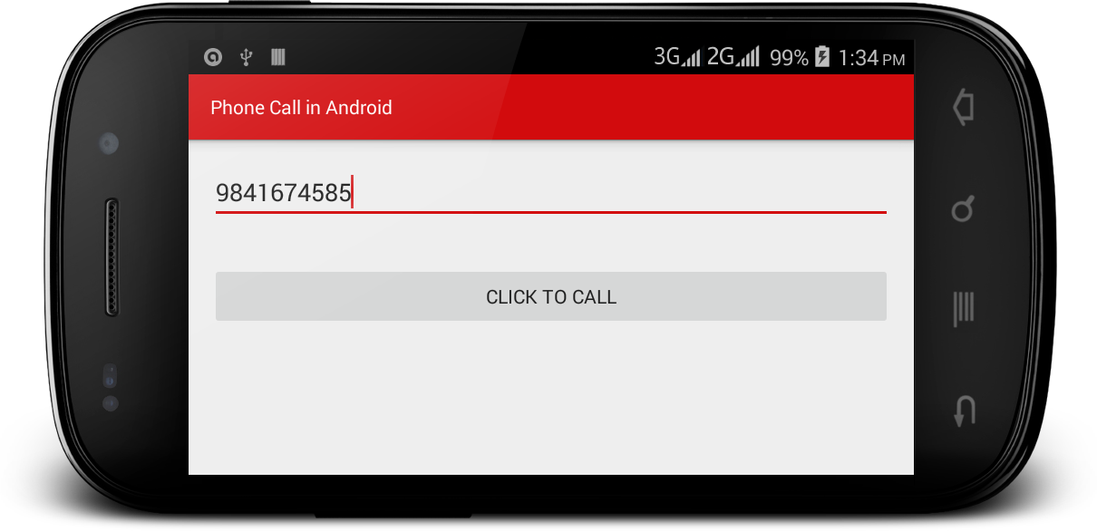 How to Make a Phone Call in Android by Entering any Number