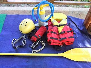 Perlengkapan Untuk Rafting