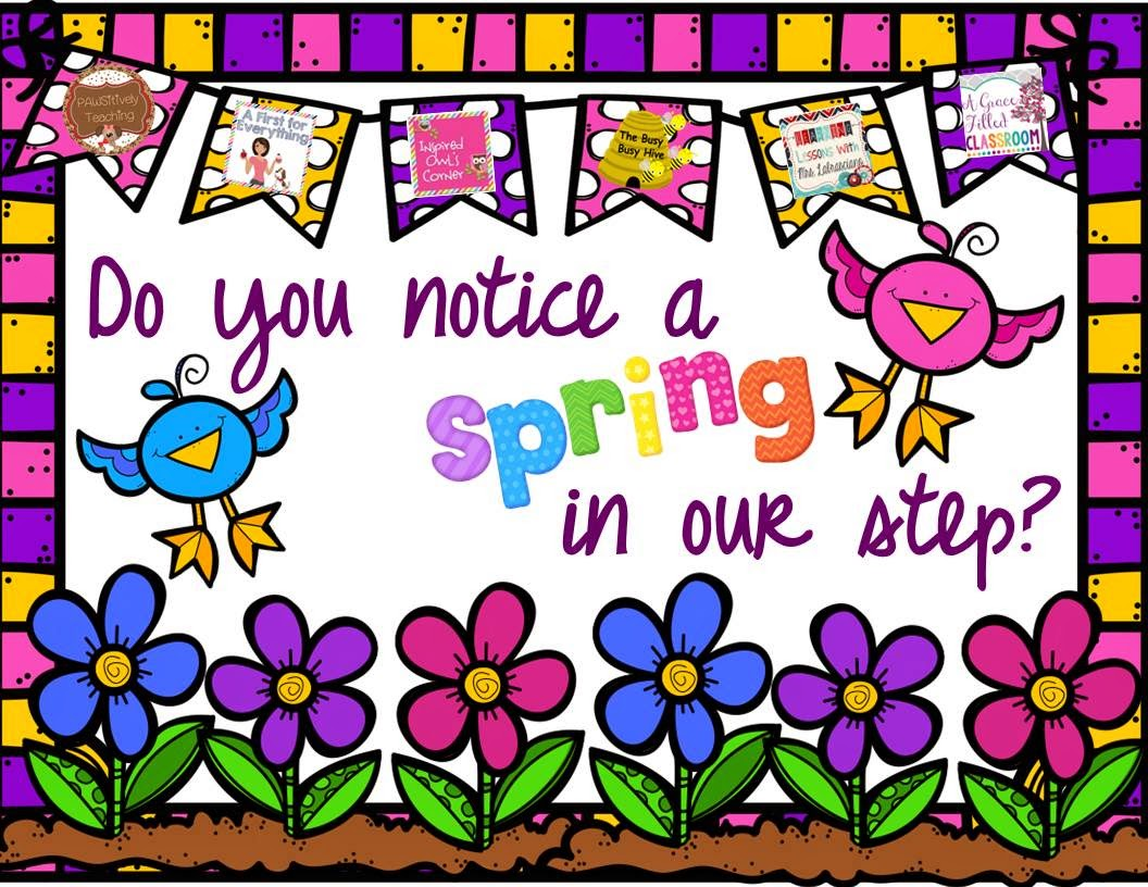 Spring in our Step giveaway