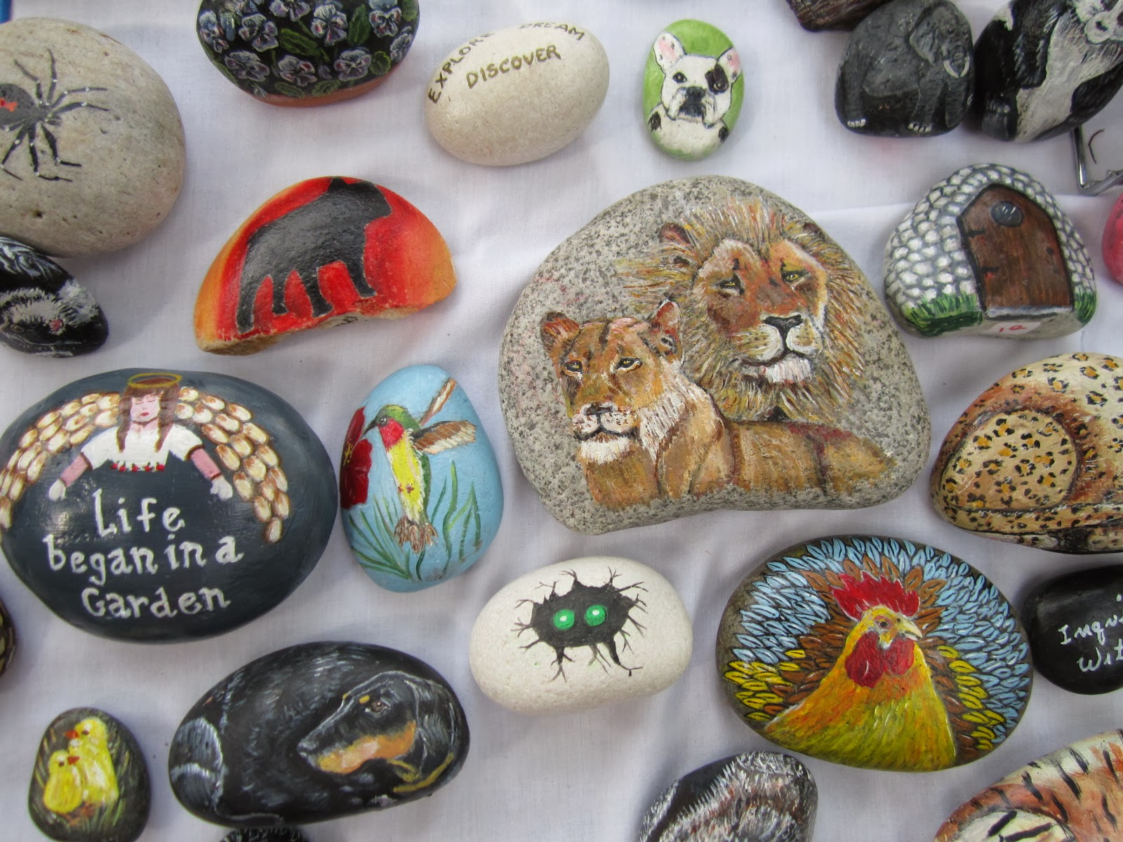 The grove guy queen of rocks - Where to buy rocks to paint ...