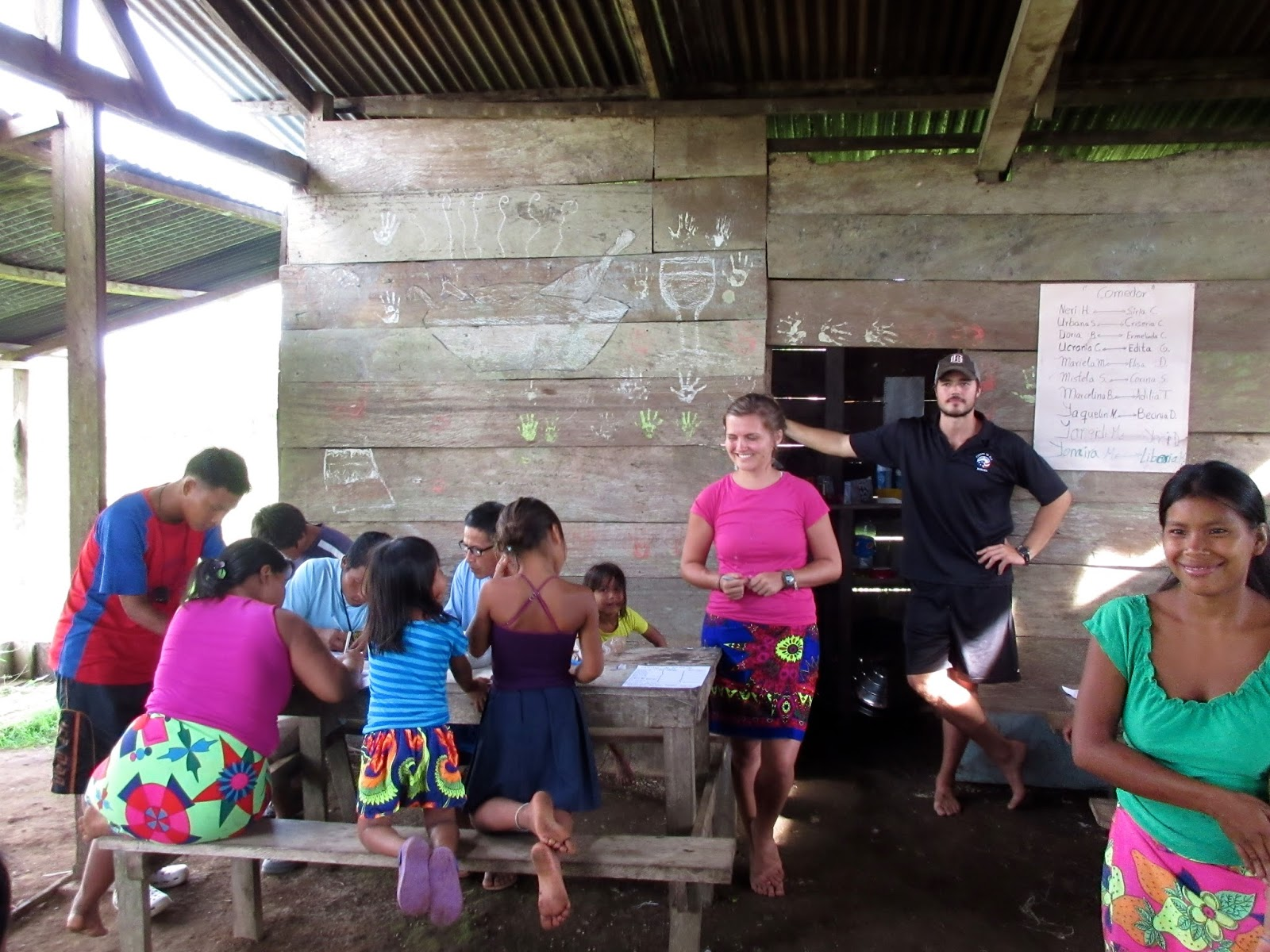 Abby Bryant teaches business and baking in Darien, Panama