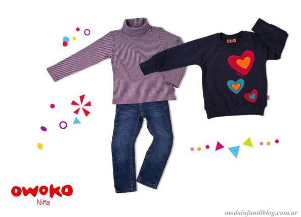 owoko moda infantil invierno 2013