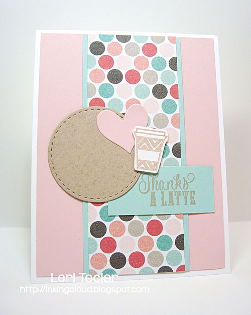 Thanks a Latte card-designed by Lori Tecler/Inking Aloud-stamps and dies from Verve Stamps