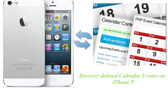 how to use calendar on iphone 5