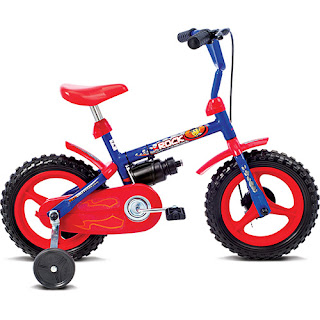 Bicicleta Verden Rock Aro 12 ´ Azul / Vermelho