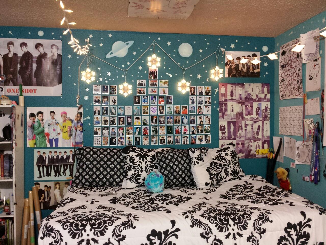 Kpopnnect quartos e ambientes que respiram kpop for Dormitorio kpop
