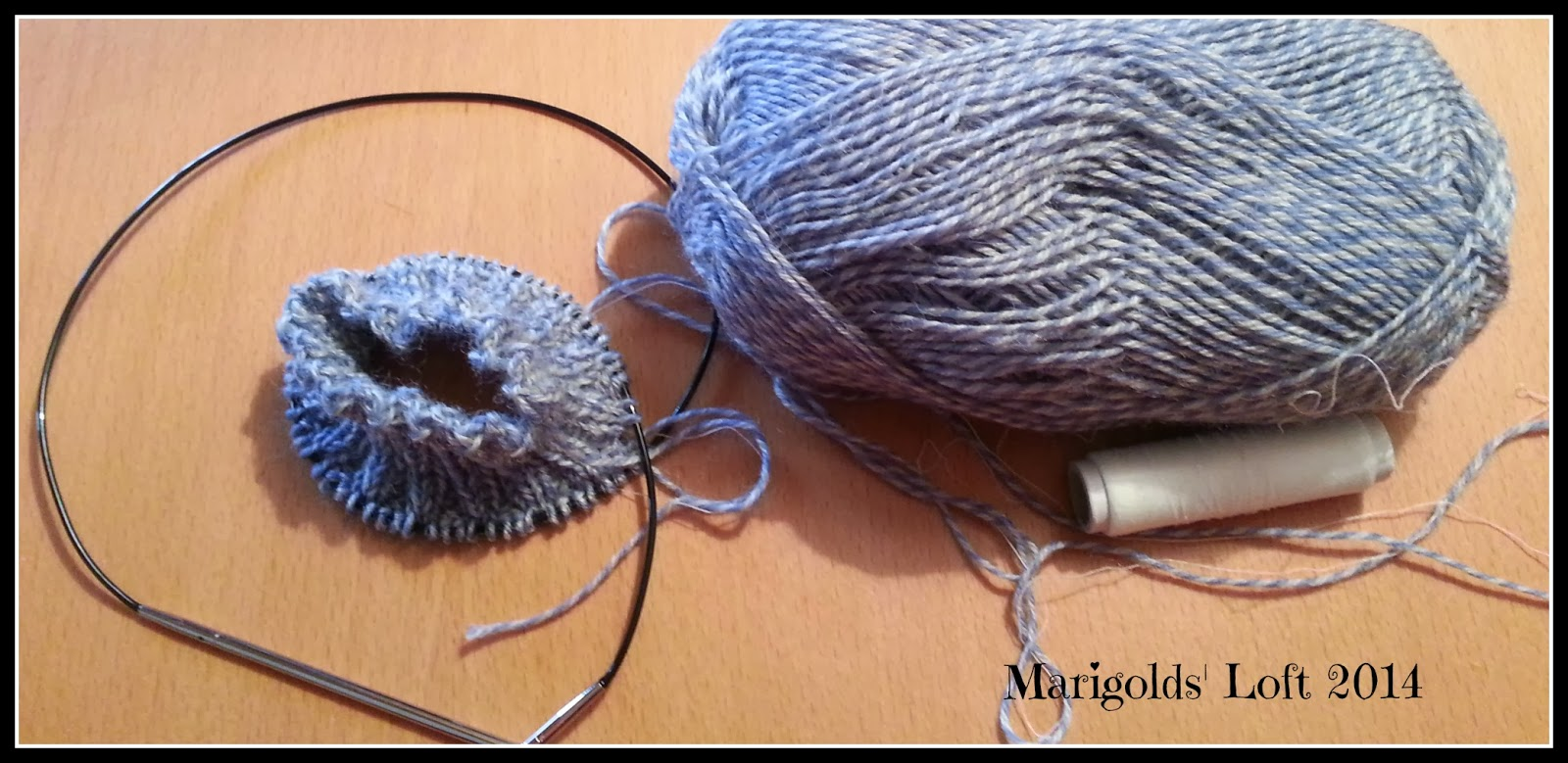 Sock KAL april Marigolds' Loft