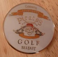Pirates Adventure Golf Belfast Pin Badge #1
