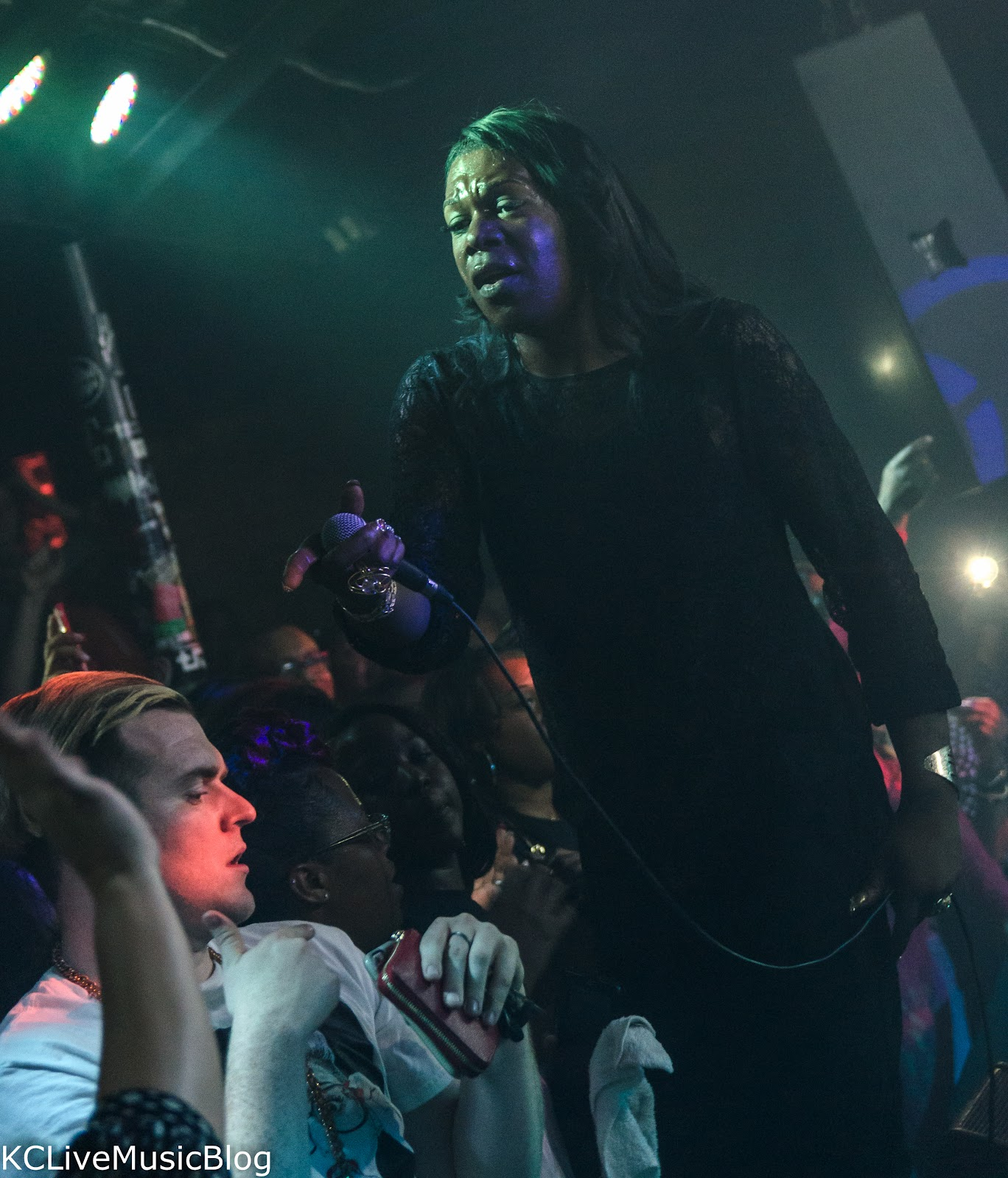 Big Freedia and Boyfriend at Riot Room -