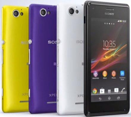 Harga Sony Xperia M