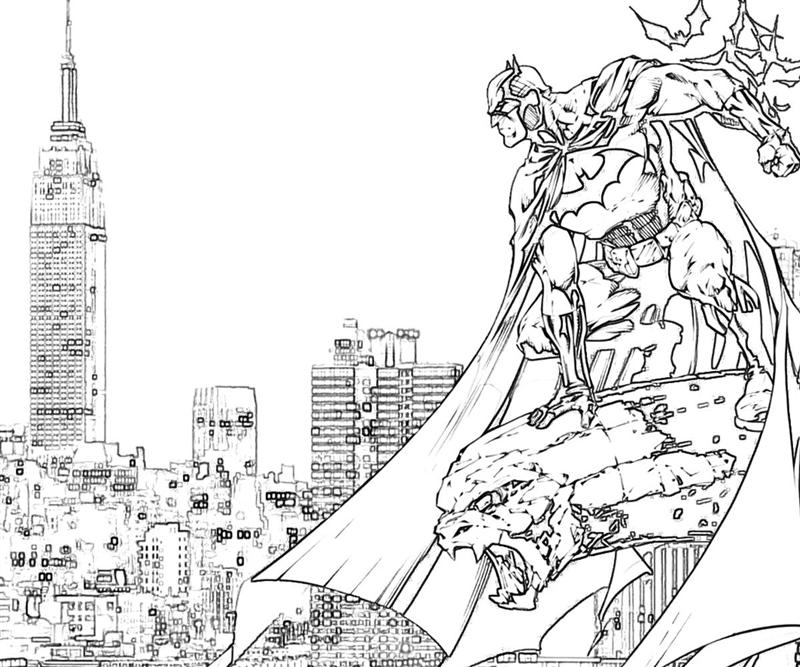 batman arkham city batman cartoons yumiko fujiwara Batman The Dark Knight Coloring Pages  Batman Arkham City Coloring Pages