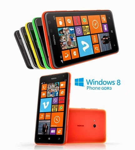 Iniziato l'aggiornamento a windows phone 8 GDR3 e Lumia Black per lo smartphone Nokia Lumia 625
