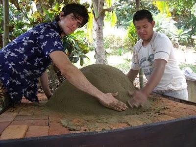 Como hacer ladrillos de barro caseros
