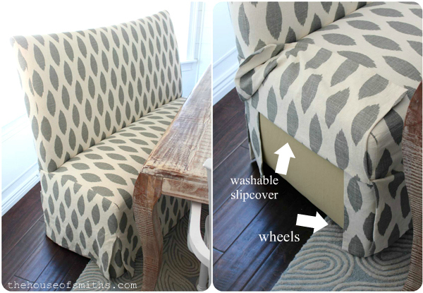 A Kitchen Re-Style: Part 5 - Window Treatments, Seating & Giveaway!
