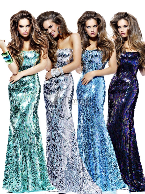 a88599db33 TJ Formal Dress Blog  Prom Trends 2012 - Sequined Prom Dresses