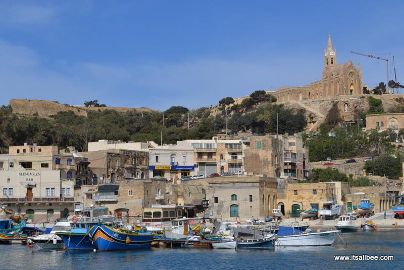 Gozo Ferry Habour