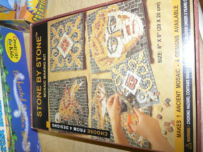 Mosaic Mustaches Summer Craft Fun