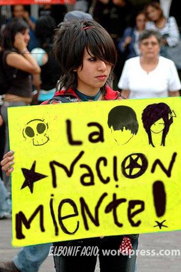 Protestos de Anarco EMO's Punks