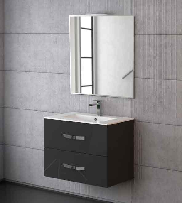 Muebles De Baño Gris:Baños Monleón: Mueble de baño Deva