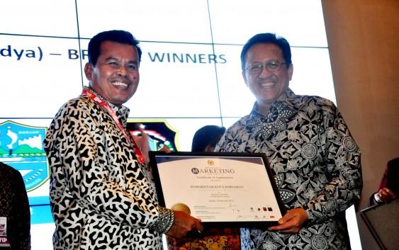 Konsen Pasarkan Potensi Wisata, Mukhlis Raih Marketing Award DPD RI
