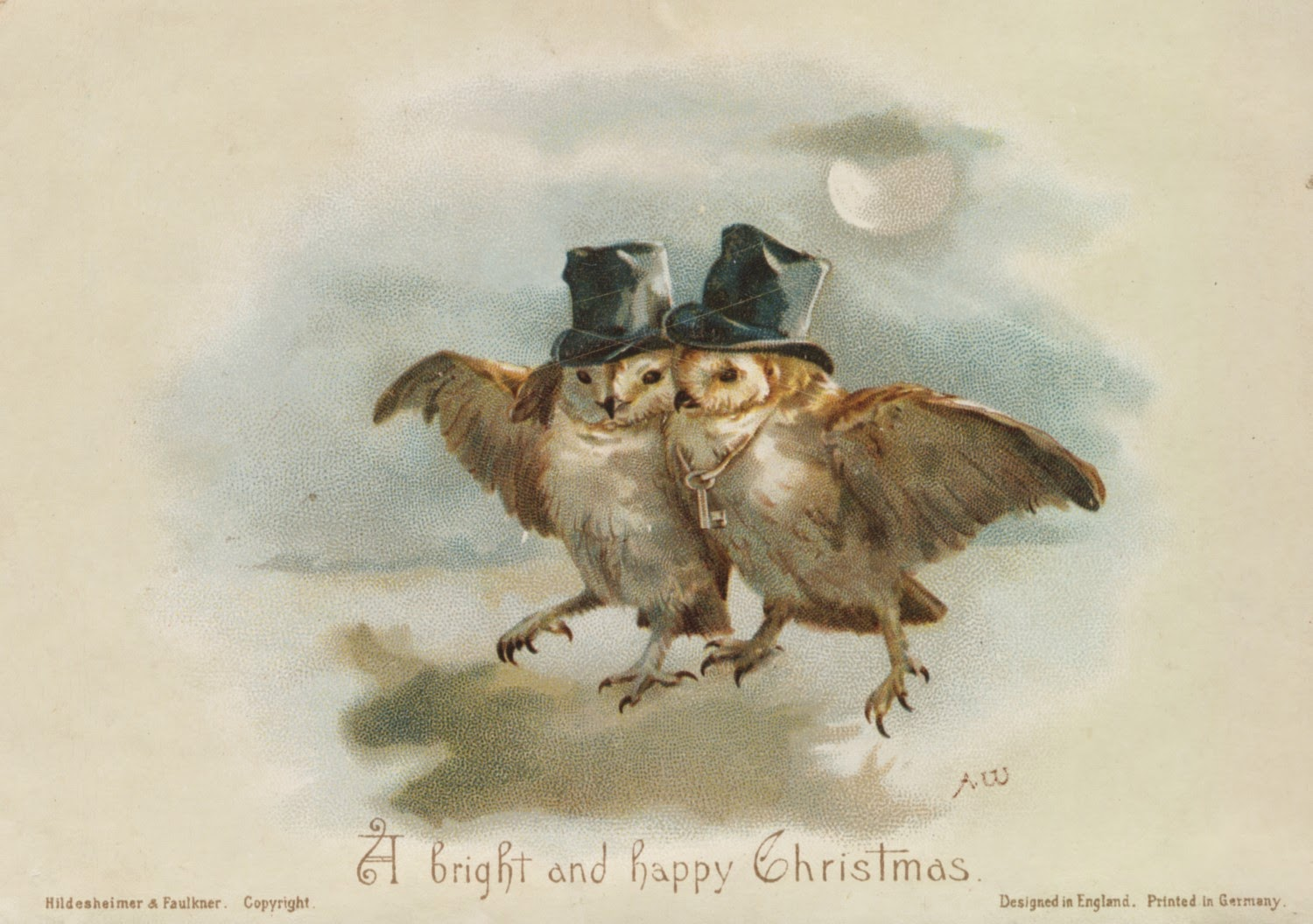 day 10 12 days of victorian christmas cards