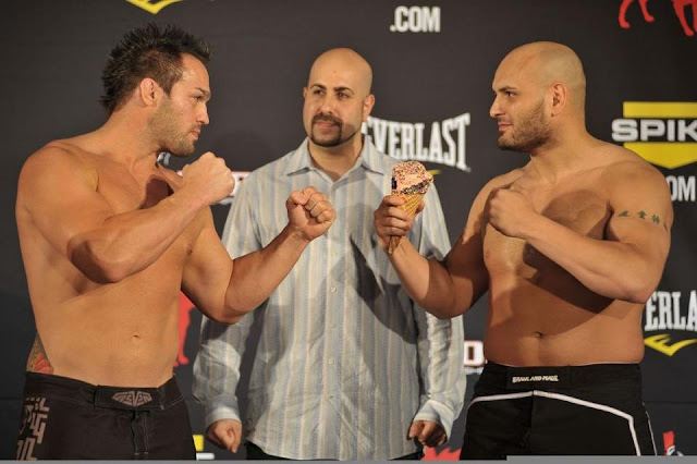 Carmelo Marrero vs. Seth Petruzelli Bellator 68 Weigh-In