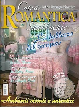 SONO STATA PUBBLICATA SU CASA ROMANTICA!