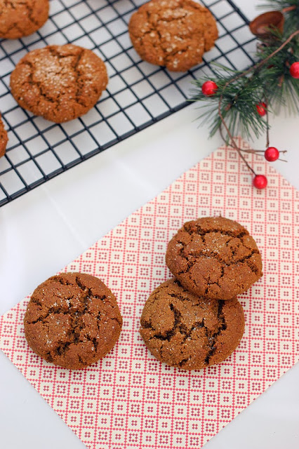Grain Free and Dairy Free Spiced Molasses Cookies
