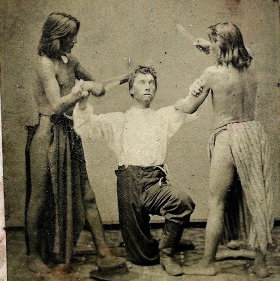 native american indian pictures american indian scalping picture