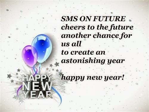Unique Happy New Year Love Wishes SMS 2014