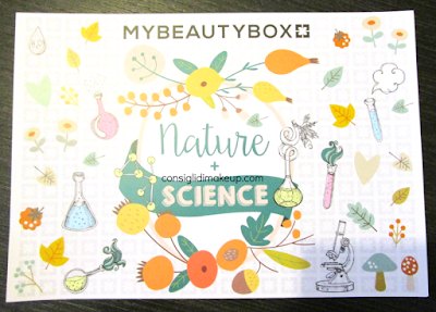MyBeautyBox ottobre 2015: Nature + Science
