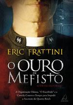 Capa do livro O Ouro de Mefisto, de Eric Frattini