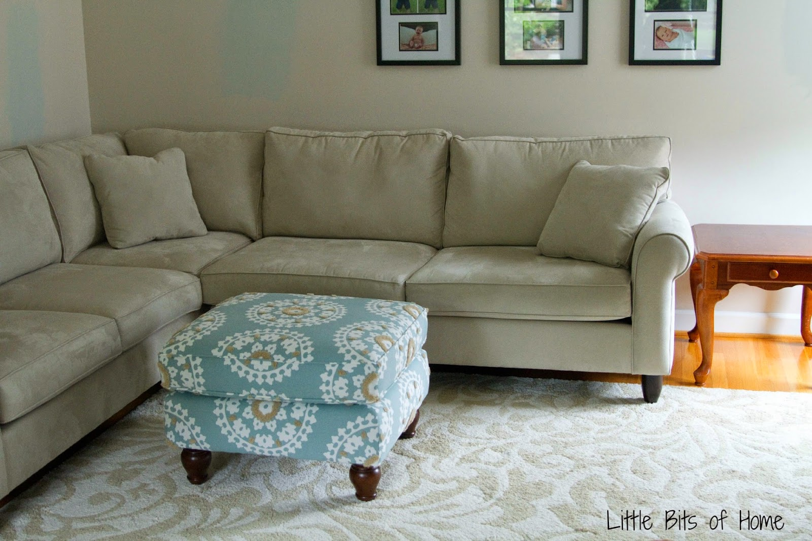 Living Room Makeover Couch Redo