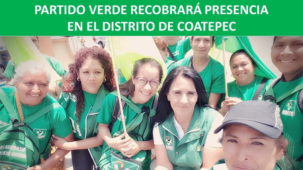 PRESENCIA EN EL DISTRITO DE COATEPEC