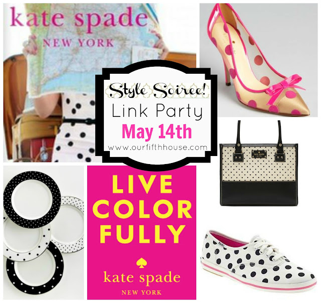 Kate Spade Inspired Link Party 