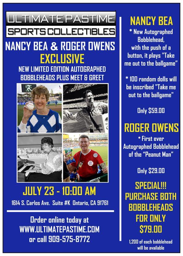 Nancy Bea & Roger Owens Bobbleheads