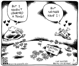 Tom Toles on Voter Amnesia