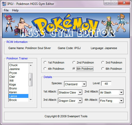pokemon rom hacks Trainer Free Download