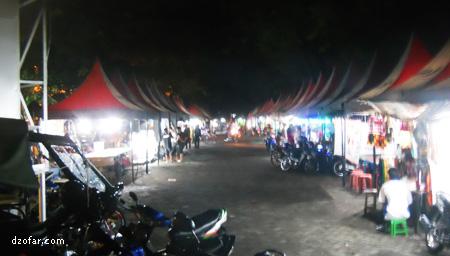 Kios-kios Gedung Juang Nganjuk