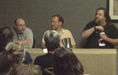 ConCarolinas, authors, photo, Hartness, Hunter, Rosenberg