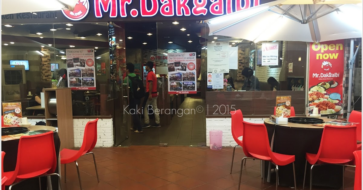 review mr dakgalbi citta mall kaki berangan. Black Bedroom Furniture Sets. Home Design Ideas