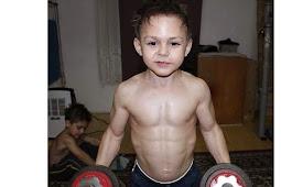 Inilah Bocah Paling Kuat di Dunia Berasal dari Rumania