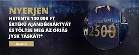 Nyerj hetente 100.000,-Ft értékű JYSK ajándékkártyát!