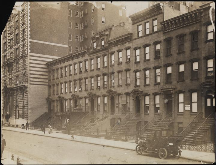 new york history geschichte 62 64 west 45th street 1910. Black Bedroom Furniture Sets. Home Design Ideas
