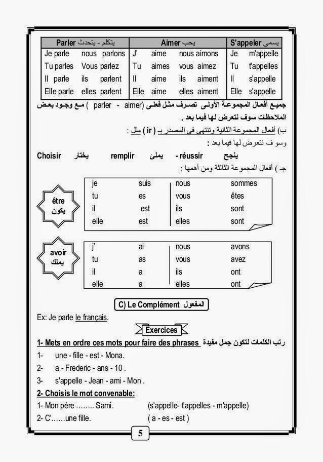 قواعد و أساسيات نطق الفرنسية لطلاب اللغات والحكومى مشروح عربى 10672439_10152811799