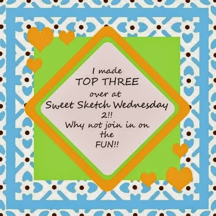 Sweet Sketch Wednesday 2 Sketch #24 Top Three